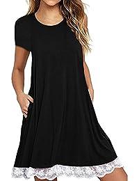 c76d0bceec93 Amazon.fr   robe femme fluide courte   Vêtements