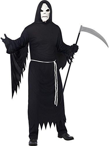 Kostüm Sensemann Maske Sensemannnkostüm Halloweenkostüm Halloween Gr. 48/50 (M), 52/54 (L), Größe:L