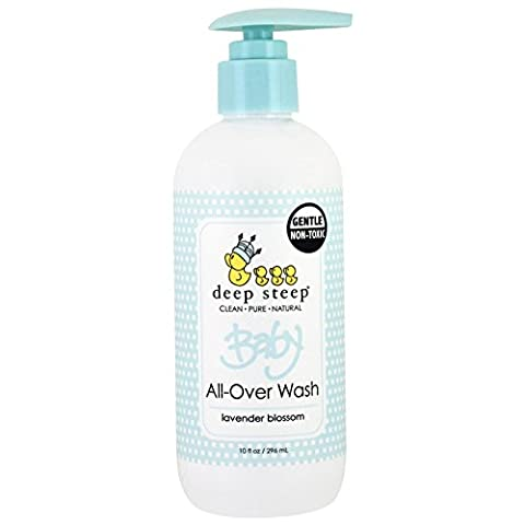 B̩b̩ All-Over Wash, Lavande Fleur, 10 fl oz (296 ml) - Steep profonde