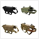 sportuli Harnais Tactique K9 Police Dog Work Service Hunting Molle Service pour Chien Harnais Police Berger Allemand S-XL