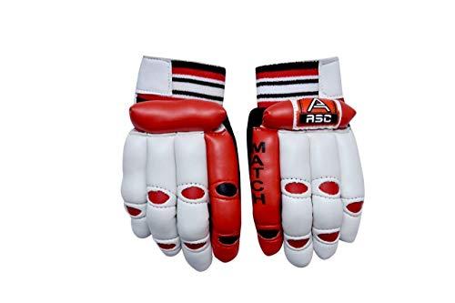 ASC Cotton Palm Multi Batting Cricket Gloves - Match (Boys) (Age- 6 to 10 Yrs)