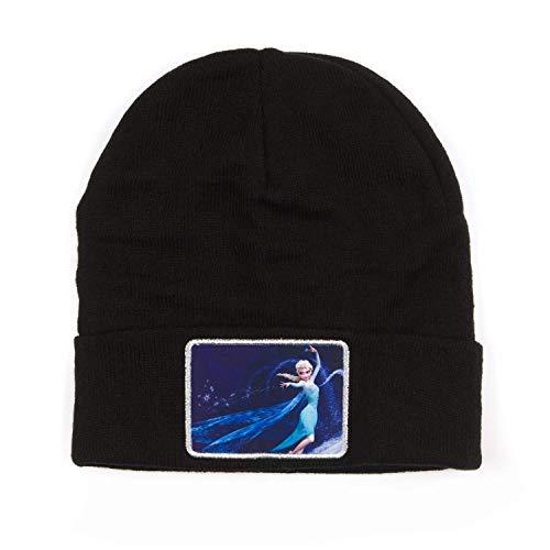 Disney Frozen Elsa Patch Cuff Beanie Hat