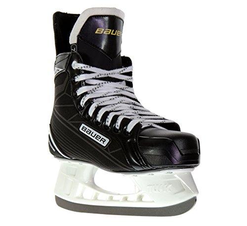 BAUER -  Supreme S 140 Eishockeyschlittschuhe für Herren I Herrenschlittschuh I Profi-Schlittschuhe mit Knöchelpolster I anatomisch geformtes Fußbett I inkl....
