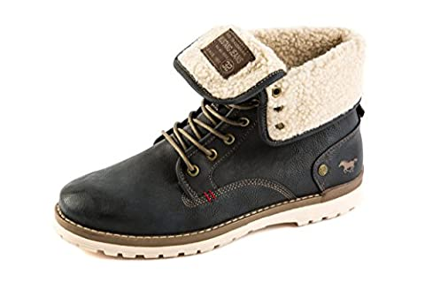 Mustang Herren Stiefel Boots Gefüttert Grau Gr. 42