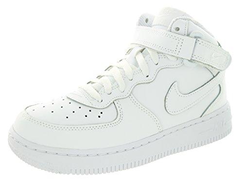 Nike Force 1 Mid Ps, Chaussures pour le sport et les loisirs en extérieur garçon Blanc