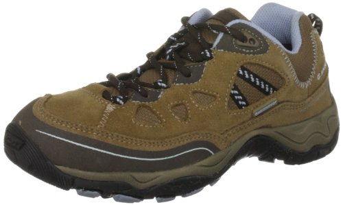 Hi-tec Total Terrain, Chaussures de Randonnée Hautes Femme Or (honey/dark Brown/blue)
