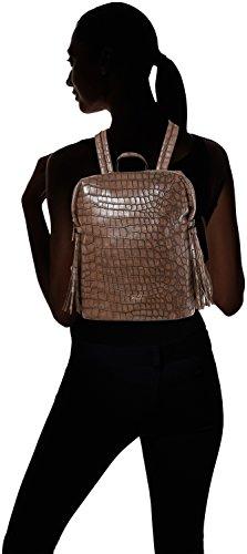 Gaudì Backpack Linea Alicia, Borsa a Mano Donna, 23 x 29 x 12 cm (W x H x L) Marrone (Brown)