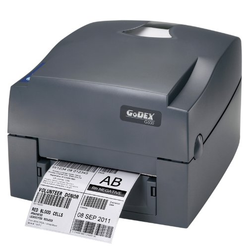 Desktop-barcode-drucker (Godex G500 Thermo Direct/Thermotransfer 203 x 203DPI Drucker für Etiketten – Drucker für Etiketten (Thermo Direct/Thermotransfer, 203 x 203 dpi, 127 mm/Sek, 172,7 cm, 10,8 cm, LCD))