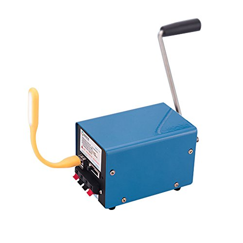 Werse Im Freien Multifunktions Portable Handkurbel Generator Für Notüberleben