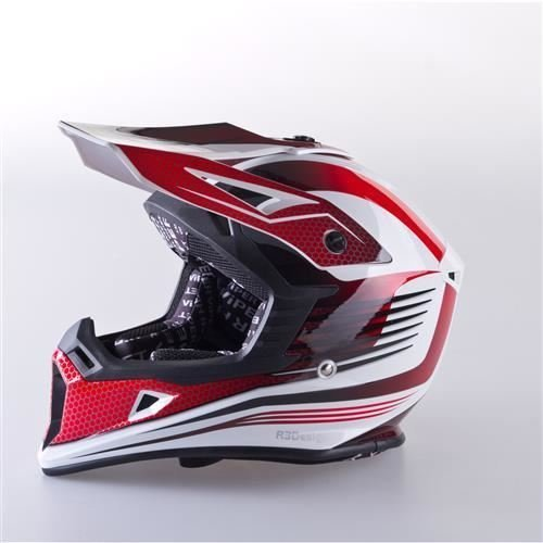 Viper RS-X95 RAZR CARBON Motocross Off Road Enduro MX ATV Quad Adventure Adult Casco, Red, S