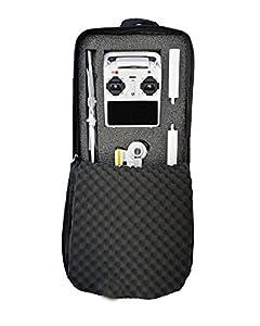 Yuneec Q500 Rucksack - Zubehör Rucksack - Mit Blitzverschluss / Transport des Yuneec Q500 (Grün / Grau)