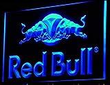 Red Bull LED Zeichen Werbung Neonschild Blau
