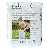 Naty By Nature Babycare - Pañales ecológicos - Talla 6 (16+ kg) - 4 x 18 pañales