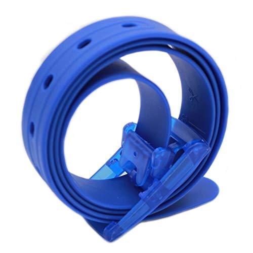 115 * 3 5Cm Silikon Colour Aus Candy Unisex Gürtel Festlich Bekleidung Perfect Für Damen Herren Outdoor Sport Fitness Training Taillengürtel Belt (Color : Royal Blau, Size : One Size)
