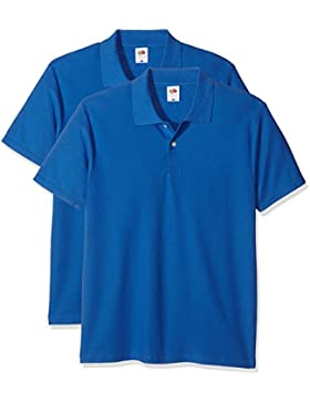 Fruit of the Loom Original Polo, T-Shirt Uomo