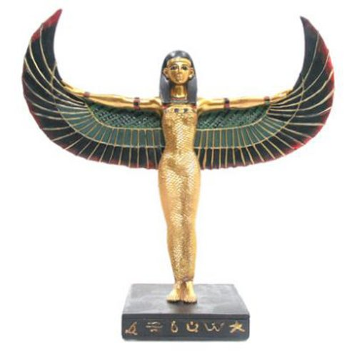 lotusandlime Decorative figure, design of Egyptian goddess Isis