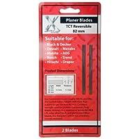 2 Stk. Hobelmesser 82mm für Bosch, Makita, Metabo, AEG, uvm. Handhobel