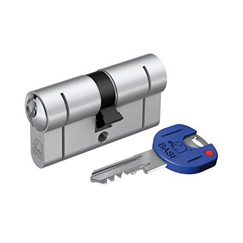Basi P5220-2740 - 27/40 mm come profilo corto cilindro con funzione di emergenza - nichel