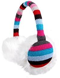 Alsino Ohrwärmer gestrickt Ohrenschützer Plüsch Earmuffs