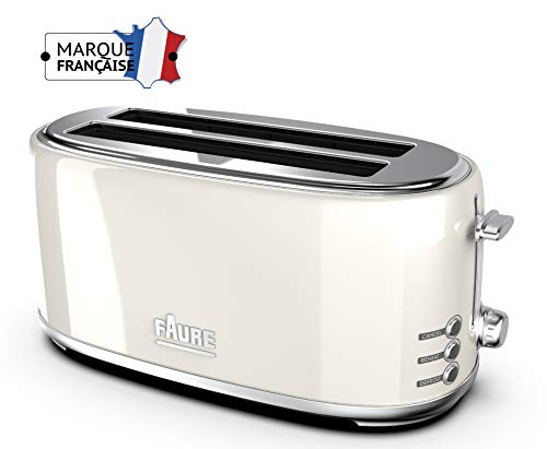 Faure FT2L-16101 Grille Pain, Crème