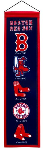 MLB Banner/Wimpel/Pennant BOSTON RED SOX Heritage Wool Blend