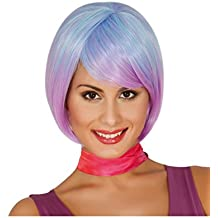 Guirca Fiestas gui4001 – Extra Larga peluca azul (Caja ...
