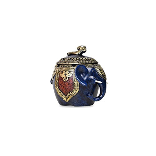 Sala de Estar Mesa de té Elefante Cenicero Decorativo Europeo de la...