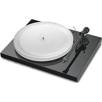 Pro-Ject Debut III Esprit Manueller Plattenspieler (MM-Tonabnehmer Ortofon Alpha, Pro-Ject 8.6 Tonarm) glänzend schwarz