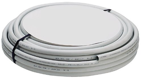 Preisvergleich Produktbild WIROFLEX   Rohr   Rohrsystem   Flexibel   Mehrschicht-Verbundrohr   DVGW   16 x 2 mm   10 m