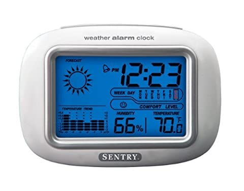 Sentry CL933 Big Screen Weather Alarm Clock by Sentry Industries Inc.