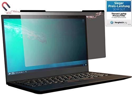 Thorani Laptop I Notebook Privacy Filter I Blickschutz Folie I Sichtschutzfolie - 14 Zoll (16:9) mit Magnet