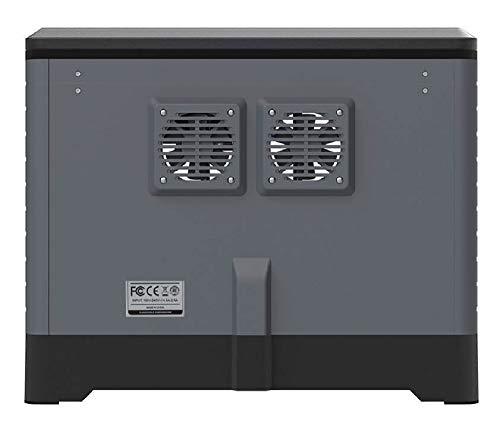 Monoprice Dual Extruder 3D-Drucker - Schwarz mit beheizter Bauplatte (230 x 150 x 160 mm) Vollständig geschlossen, eingebaute Kamera, automatische Wiederaufnahme, Touchscreen, einfaches WLAN - 4