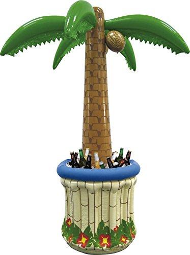 Folat 07492 - Aufblasbare Jumbo Palme mit Kühler, Circa 180 cm