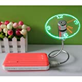 Portable-Souple-USB-Horloge-Ventilateur-Avec-Lumire-LED-Affichage-Temps-Rel-Pour-PC-Portable