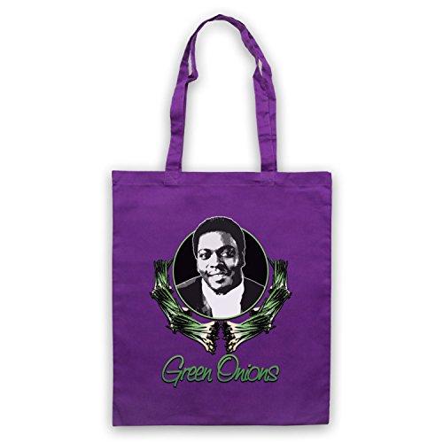 Inspiriert durch Booker T & The MG's Green Onions Inoffiziell Umhangetaschen Violett