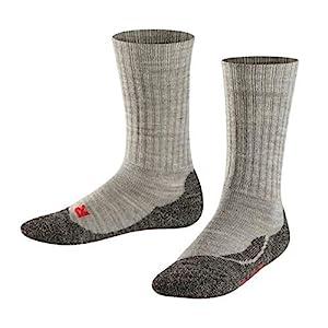 FALKE Kinder Socken Active Warm – Merinowollmischung, 1 Paar, Versch. Farben, Größe 19-42 – warmer, atmungsaktiver Strumpf mit Plüschsohle, ideal für aktive Kinder