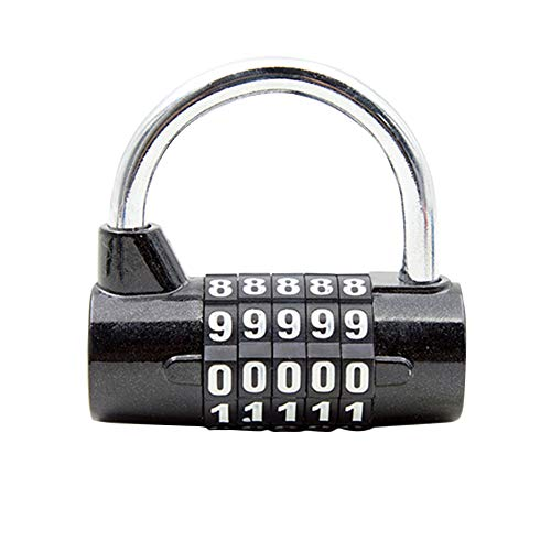 Numbers Candados de combinación de 5 dígitos, candado de seguridad c