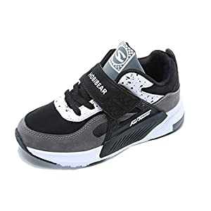 Kids Walking Running Shoes Breathable Casual Trainers Lightweight Athletic Sneakers
