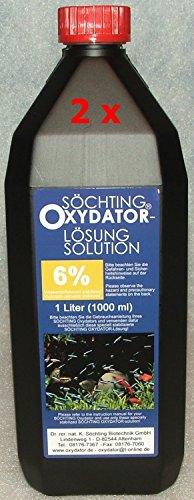 Söchting Oxydator Lösung 6{7975356725189cbc64e71d25b6f638af8db5dbdd04294862813f8d6b492c93fa} 2x 1 Liter