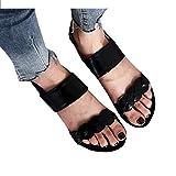 Dorical Sandalias Mujer Verano 2019 Planas Zapatillas Moda Retro Mujer Zapatillas Punta Abierta Zapatillas Mujer Sandalias Romanas Zapatos de Playa Mujer Sandalias de Vestir niña