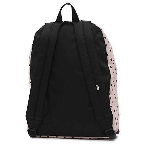 Imagen de vans realm backpack  tipo casual, 42 cm, 22 liters, rosa sepia shibori dot  alternativa