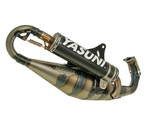 YASUNI Carrera 30 Carbon Auspuff für Piaggio Sfera (NSL/RST) 50,