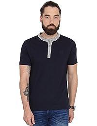 Urban Nomad Navy Blue Cotton T-shirt