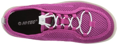 Hi-Tec  Zuuk Jrg, chaussures de sport fille Bleu - Pink/Off White