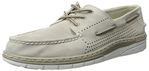 Sperry Top-Sider Mens Billfish Ultralite Perf Suede Boat Shoe Stone