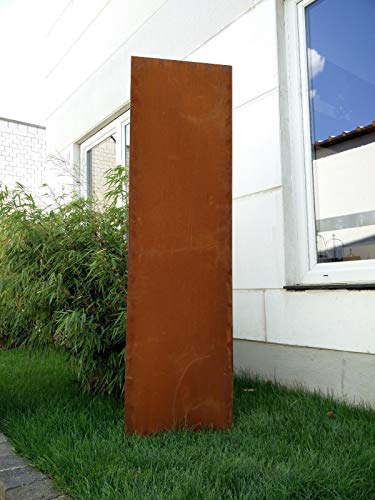 Gartensichtschutz Garten Sichtschutz Aus Metall Rost Gartenzaun