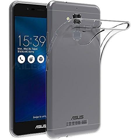 ASUS ZenFone 3 Max Funda, AICEK Ultra transparente ASUS ZenFone 3 Max (ZC520TL) Carcasa Funda Suave Flexible Extremadamente Delgada piel Resistente a los Arañazos silicona TPU protectora para ASUS ZenFone 3 Max 5.2