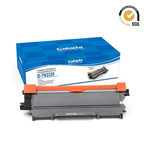 Galada Toner tn-2220 für brother mfc 7360 n - toner dcp 7055w - Toner Tn-2220 Brother - Toner ersetzt Brother TN-2010, TN2010 5400 Seiten - für Brother FAX-2840, FAX-2845, FAX-2940, HL-2240D, HL-2240, HL-2310,HL-2250DN, HL-2270DW, DCP-7060D, DCP-7065DN, DCP-7070DW