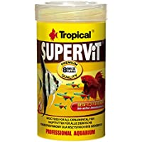 Tropical Supervit Premium - Comida para Todos los Peces Ornamentales, 1 Unidad (1 l)