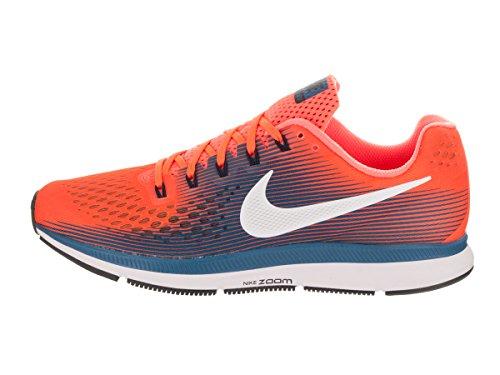 Da Uomo Scarpe da ginnastica Nike Nike Zoom Pegasus 31 Running Scarpe da ginnastica UK 10 NERO BUONE COND